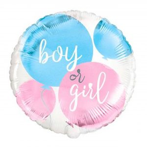 folieballon boy or girl