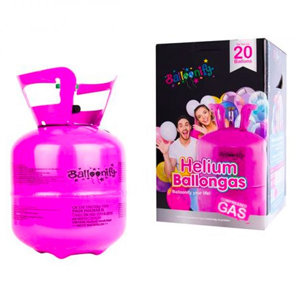 Heliumtank 20 ballonnen