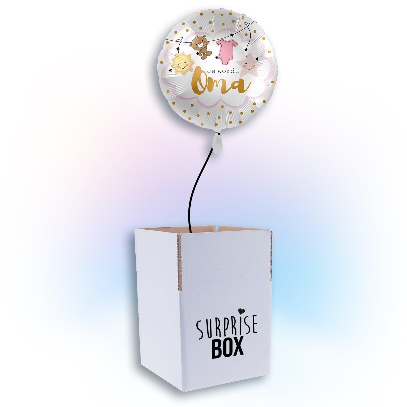 Surprise box Je wordt oma